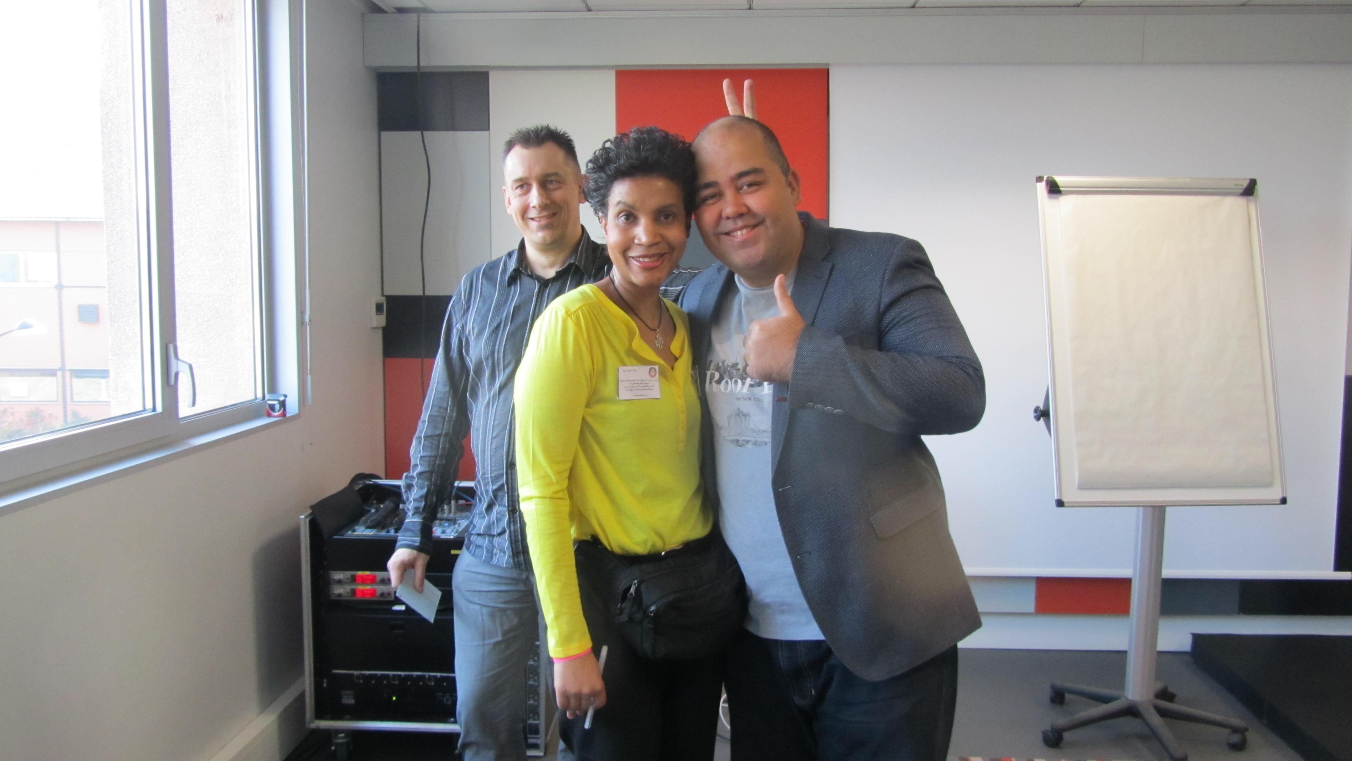Luc Bernouin, Yveline et Yannick ALAIN. Atelier : les 2 clefs indispensables pour booster votre business