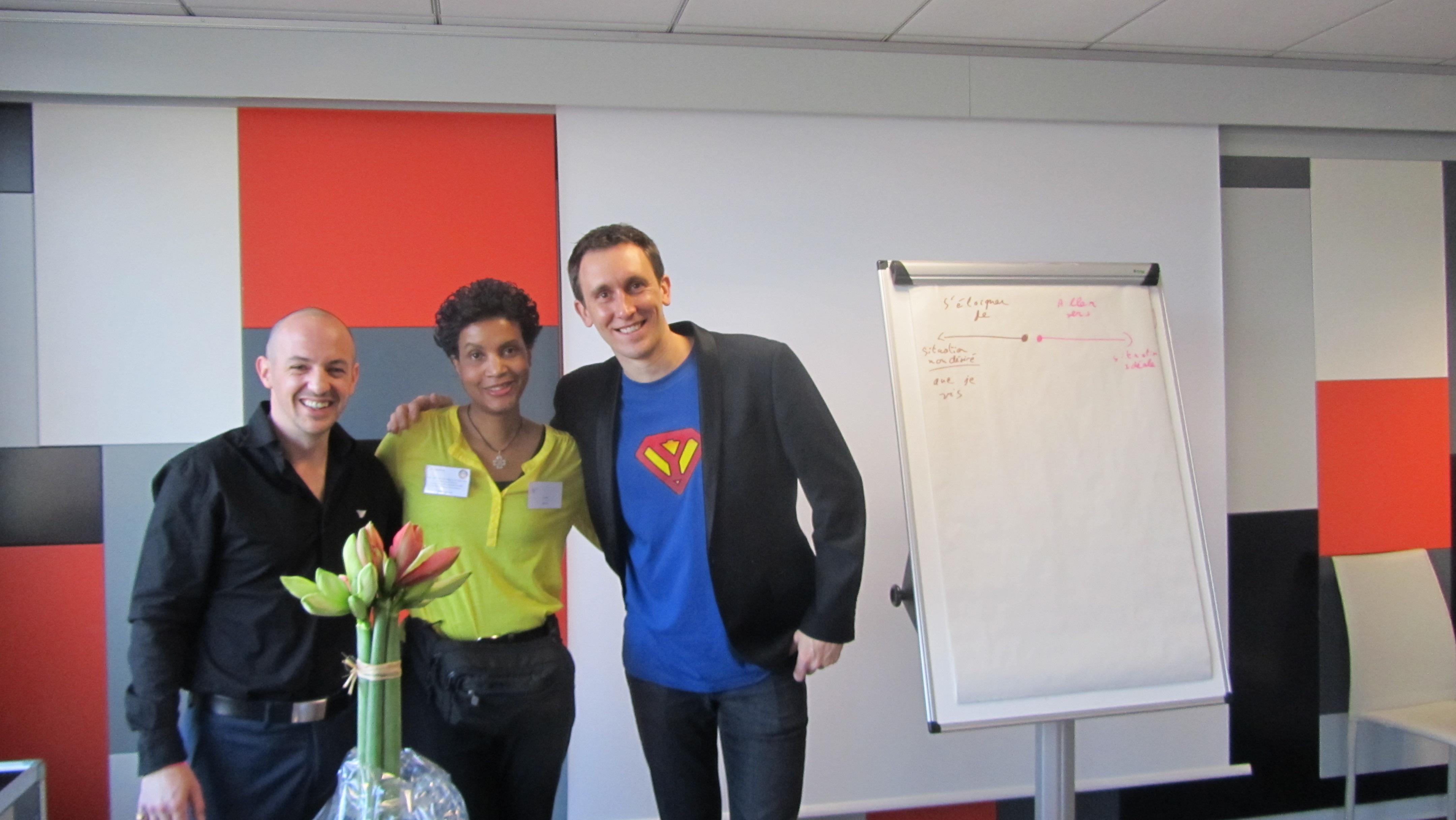 Nicola PENE, Yveline et Thomas GASIO Atelier : les 2 clefs indispensables pour booster votre business