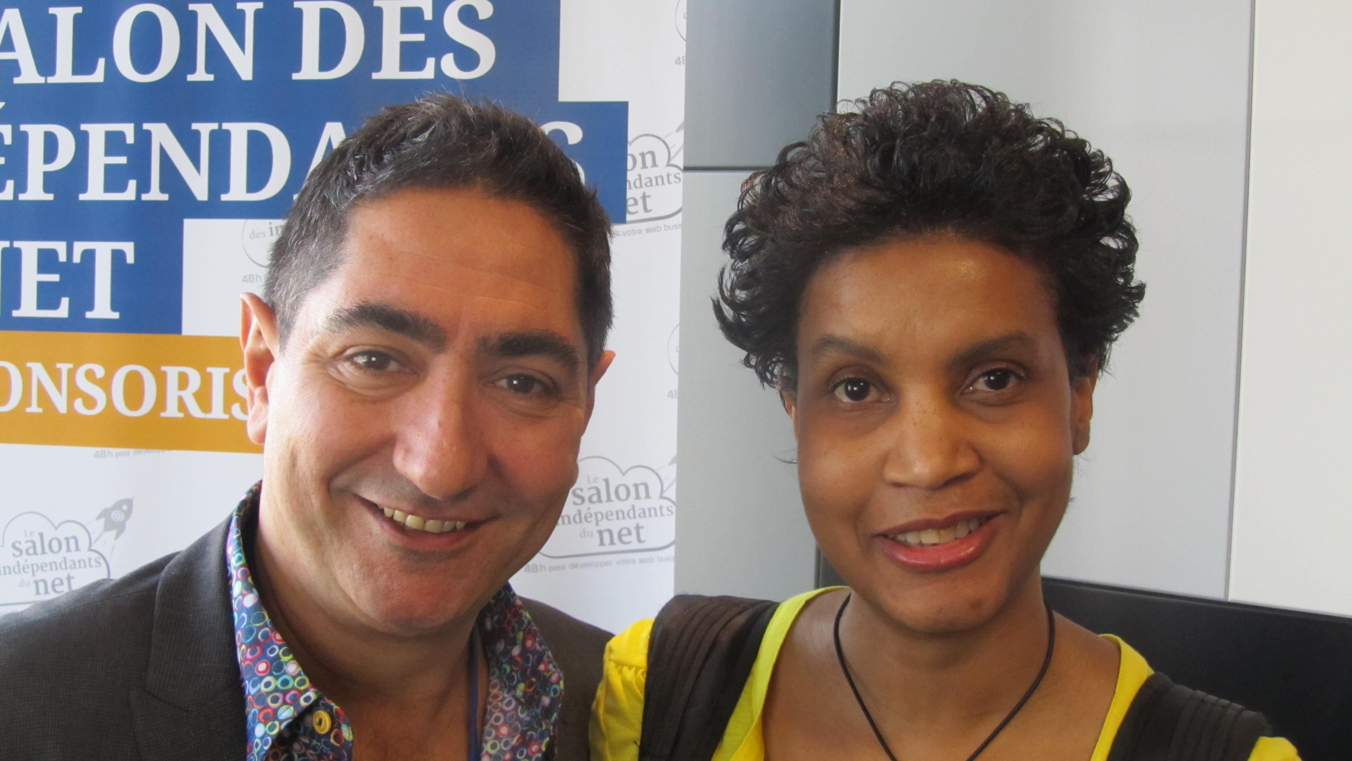 Lorenzo PANCINO et Yveline. Atelier: comment vendre votre passion ou expertise, de manière automatique sur Internet.