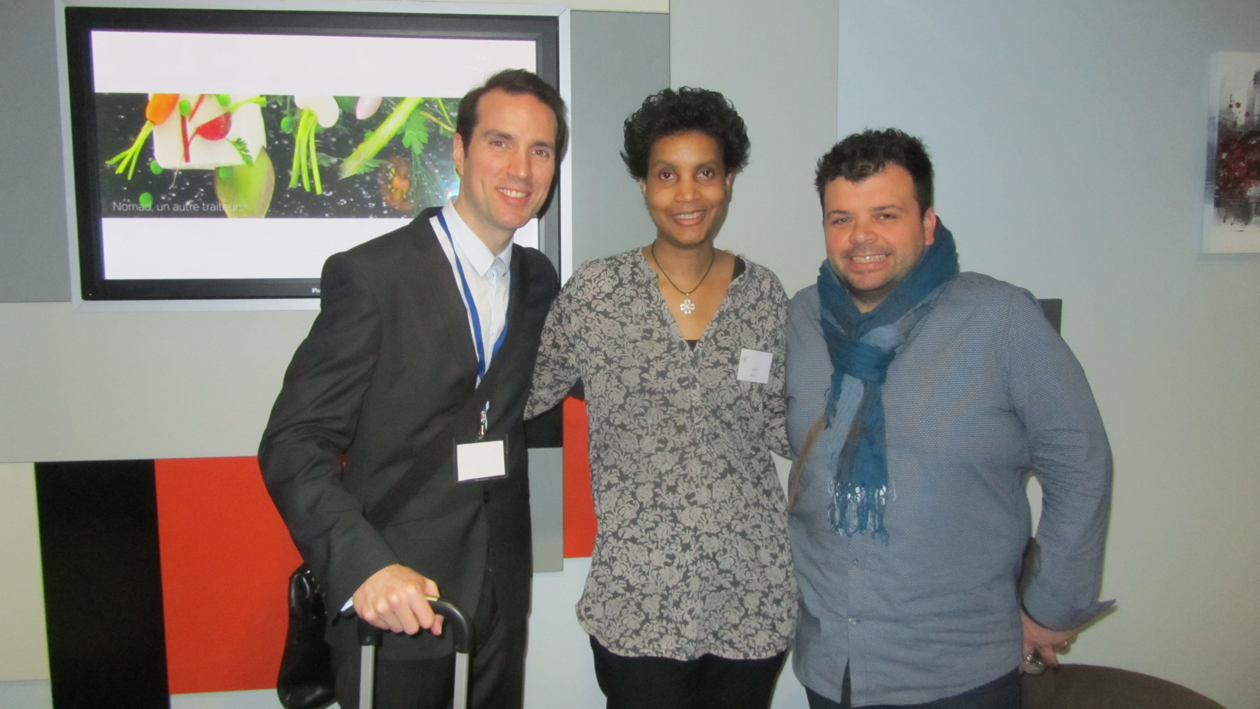 Sergio LAUBARY, Yveline et Mikaël MESSA